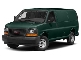 2018 GMC Savana 2500 Van Woodland Green