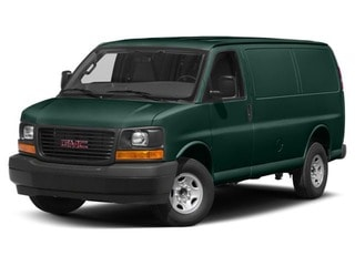 2018 GMC Savana 3500 Van Woodland Green
