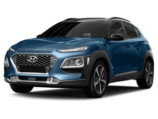 2018 Hyundai Kona SUV Surf Blue w/Dark Gray Roof