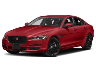 2018 Jaguar XE Sedan Caldera Red