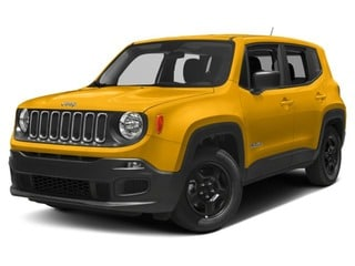 2018 Jeep Renegade SUV Solar Yellow