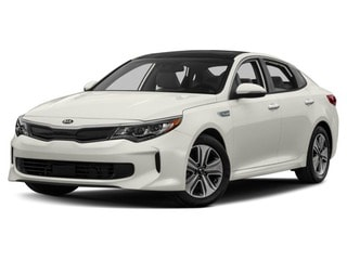 2018 Kia Optima Hybrid Sedan Snow White Pearl