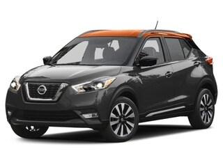 2018 Nissan Kicks SUV Gun Metallic/Monarch Orange