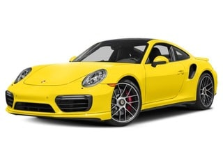 2018 Porsche 911 Coupe Saffron Yellow Metallic