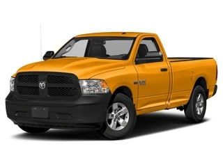 2018 Ram 1500 Truck School Bus Yellow