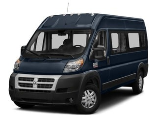 2018 Ram ProMaster 2500 Window Van Van True Blue Pearlcoat
