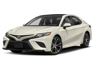 2018 Toyota Camry Sedan Midnight Black Metallic/Wind Chill