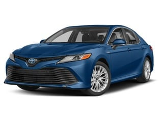 2018 Toyota Camry Hybrid Sedan Blue Streak Metallic