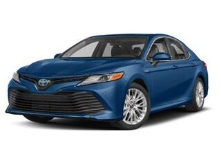 2018 Toyota Camry Hybrid Sedan Blue Streak Metallic