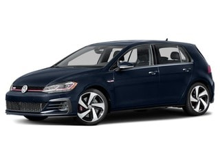 2018 Volkswagen Golf GTI Hatchback Night Blue Metallic