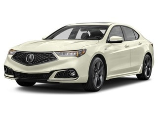 2019 Acura TLX Sedan Platinum White Pearl