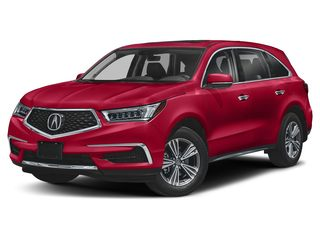 2019 Acura MDX SUV Performance Red Pearl
