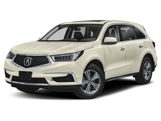 2019 Acura MDX SUV White Diamond Pearl