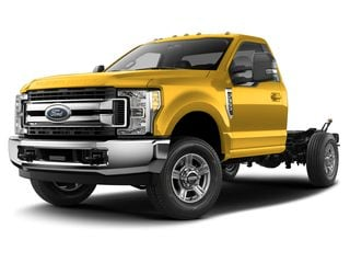2019 Ford F-350 Chassis Truck Yellow