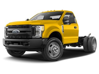 2019 Ford F-450 Chassis Truck Yellow