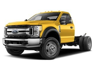 2019 Ford F-550 Chassis Truck Yellow