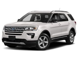 2019 Ford Explorer SUV White Platinum Metallic Tri-Coat
