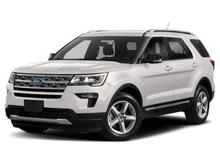 2019 Ford Explorer SUV White Platinum Metallic Tri-Coat