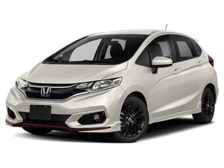 2019 Honda Fit Hatchback Platinum White Pearl