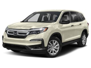 2019 Honda Pilot SUV White Diamond Pearl