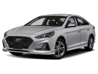 2019 Hyundai Sonata Sedan Symphony Silver