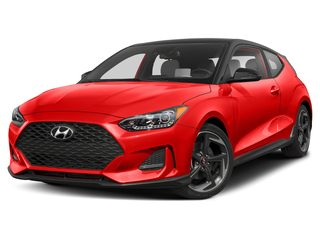 2019 Hyundai Veloster Hatchback Sunset Orange w/Black Roof