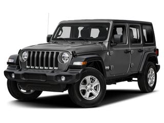 2019 Jeep Wrangler Unlimited SUV Sting-Gray Clearcoat