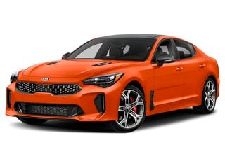 2019 Kia Stinger Sedan Federation Orange