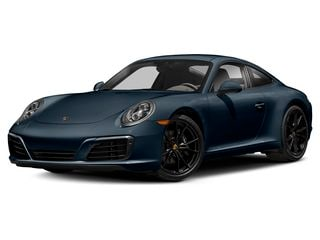 2019 Porsche 911 Coupe Night Blue Metallic