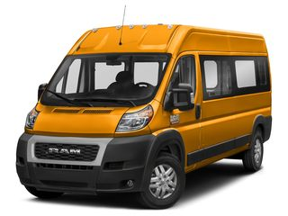 2019 Ram ProMaster 2500 Window Van School Bus Yellow