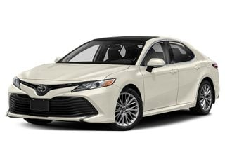 2019 Toyota Camry Sedan Wind Chill Pearl