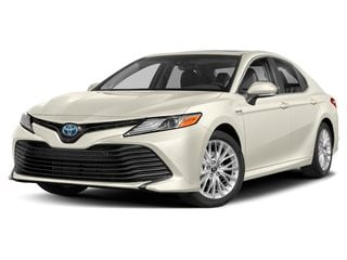 2019 Toyota Camry Hybrid Sedan Wind Chill Pearl