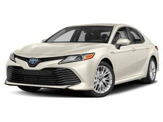 2019 Toyota Camry Hybrid Sedan Wind Chill Pearl