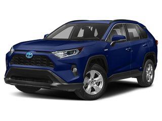 2019 Toyota RAV4 Hybrid SUV Blueprint