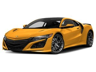2020 Acura NSX Coupe Indy Yellow Pearl