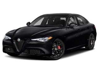 2020 Alfa Romeo Giulia Sedan Vulcano Black Metallic