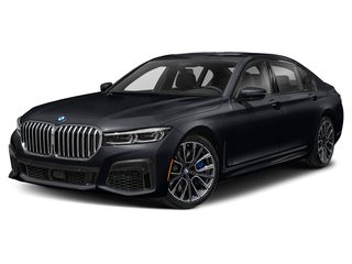 2020 BMW 750i Sedan Azurite Black II Metallic