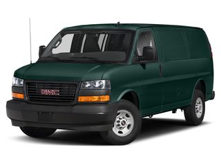 2020 GMC Savana 3500 Van Woodland Green