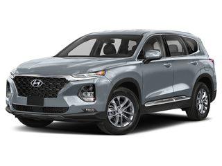 2020 Hyundai Santa Fe SUV Shimmering Silver Pearl