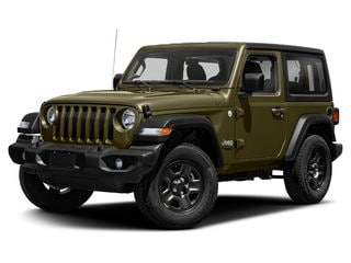 2020 Jeep Wrangler SUV Sarge Green Clearcoat