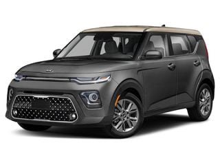 2020 Kia Soul Hatchback Gravity Gray/Gold Roof