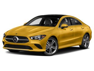 2020 Mercedes-Benz CLA 250 Coupe Sun Yellow