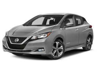 2020 Nissan LEAF Hatchback Brilliant Silver Metallic
