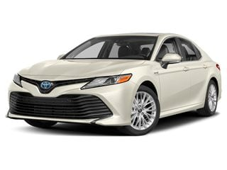 2020 Toyota Camry Hybrid Sedan Wind Chill Pearl