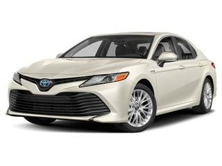 2020 Toyota Camry Hybrid Sedan Wind Chill Pearl
