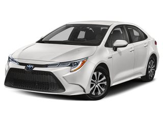 2020 Toyota Corolla Hybrid Sedan Super White