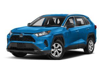 2020 Toyota RAV4 SUV Blue Flame