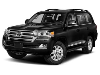 2020 Toyota Land Cruiser SUV Midnight Black Metallic