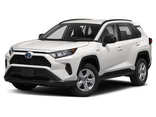 2020 Toyota RAV4 Hybrid SUV Super White