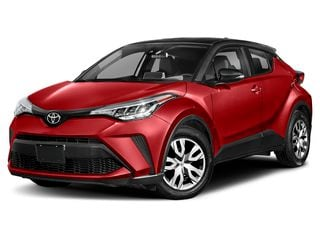 2020 Toyota C-HR SUV Supersonic Red w/Black Roof